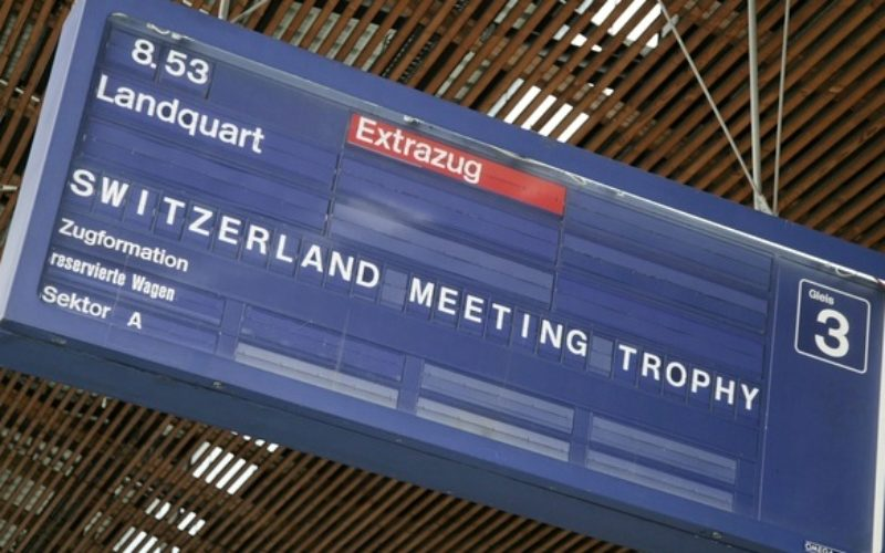 Switzerland Meeting Trophy celebrates 10th year with Belgium on top