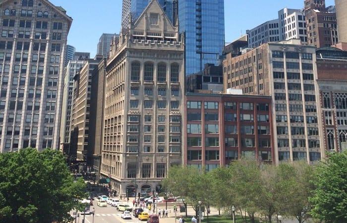 Chicago street scene