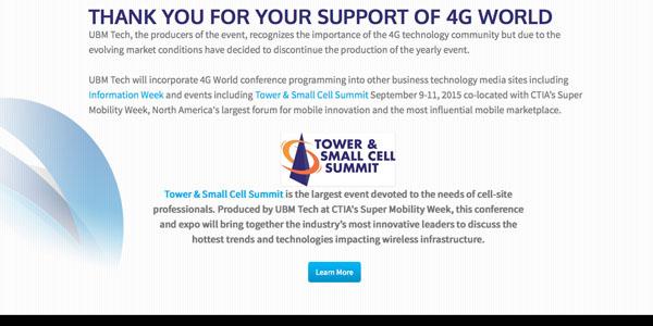 UBM 4G World