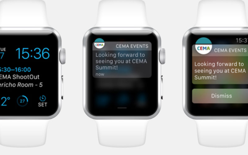 QuickMobile introduces event app with Apple Watch integration