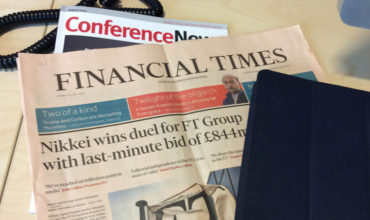 Japanese media firm bags FT conference arm in US$1.3bn deal