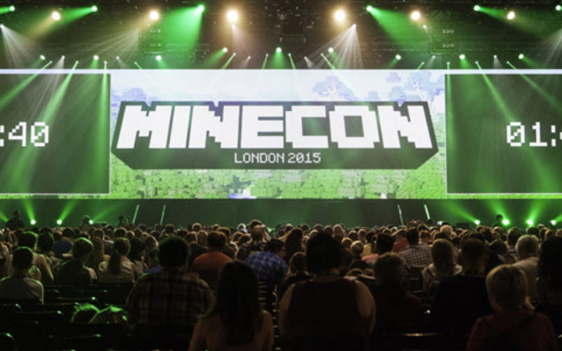 Record 10,000 gamers show at Minecon 2015 in London