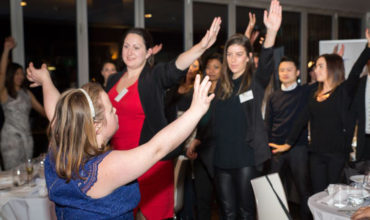 Dancing with the rising stars in Australia