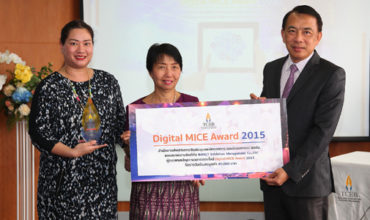 Bangkok's IMPACT Center wins Thailand's Digital MICE Award 2015
