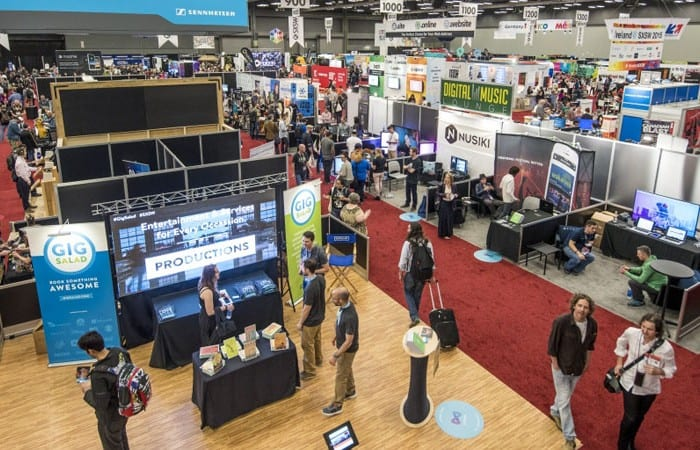 South by Southwest trade show in Austin, Texas