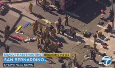Deadly rampage at Californian conference centre