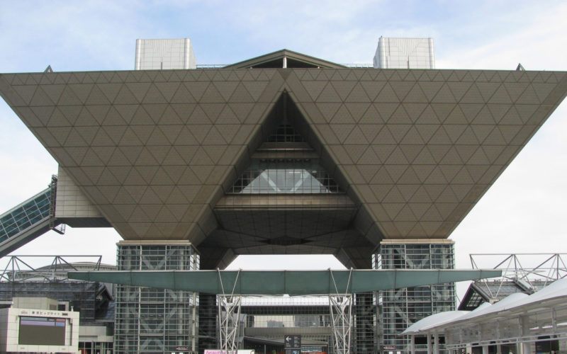 Olympic venue occupation risk for Japan expo market