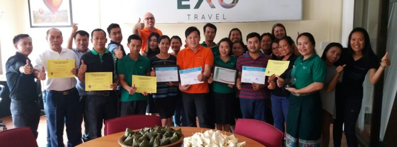 Travelife certification for EXO Travel's Laos and Myanmar DMCs