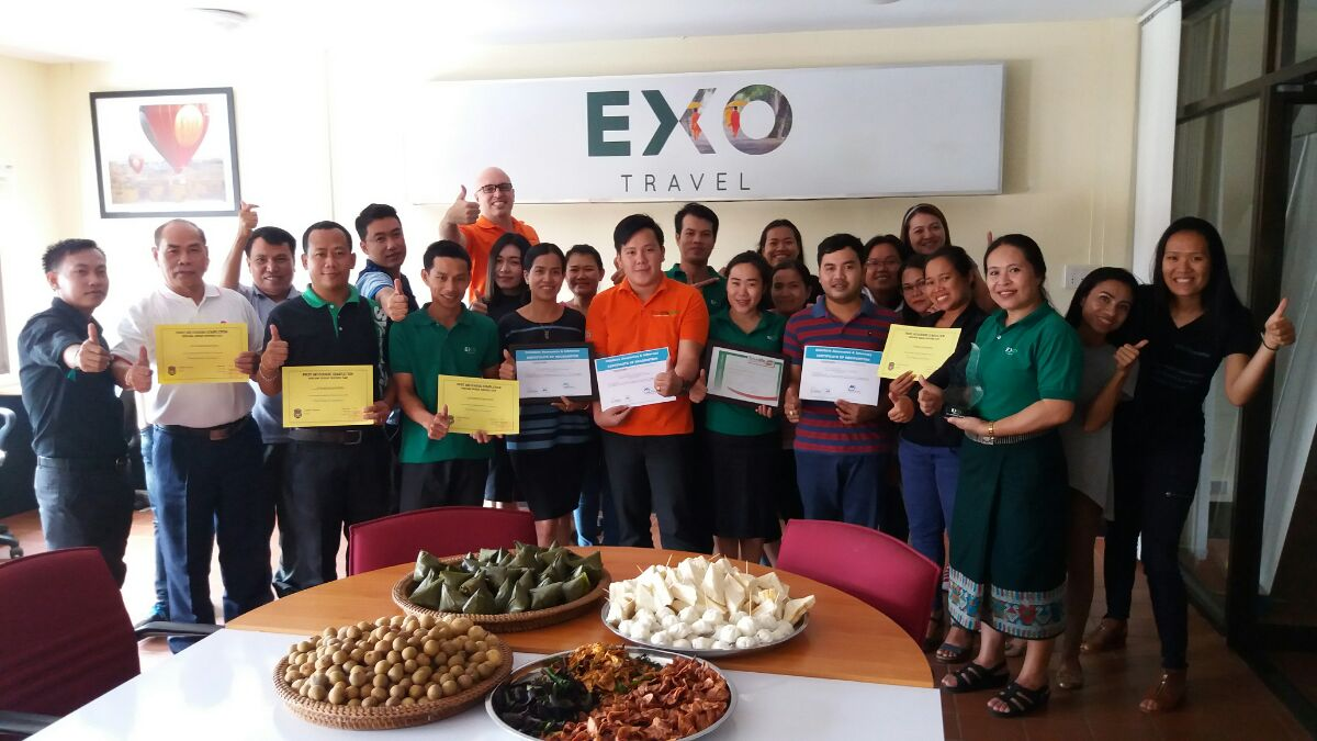 Travelife certification for EXO Travel's Laos and Myanmar DMCs - CMW