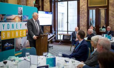 Lord Malloch-Brown speaks for Sydney in London