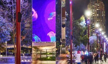 ICC Sydney lights up locality