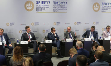 Meetings on the big agenda for first time at Russia's St Petersburg Economic Forum