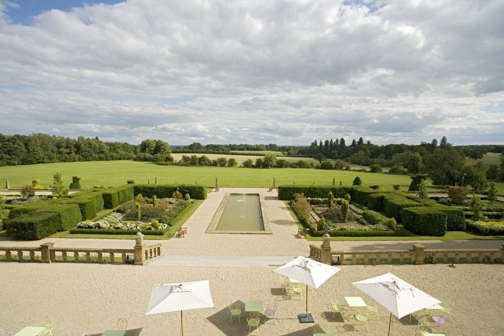 Stunning views at Eynsham Hall