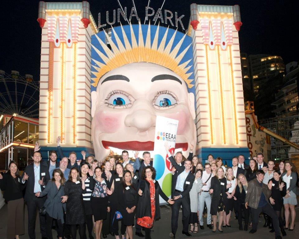1. EEAA Young Stars with Kai Hattendorf and Mark Cochrane at Luna Park Sydney