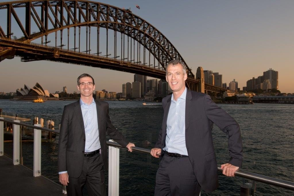 3. Kai Hattendorf and Mark Cochrane in Sydney for the EEAA 2017 Global Exchange