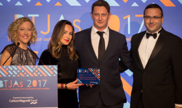 Mash Media scoops double win at Business Travel Journalism Awards