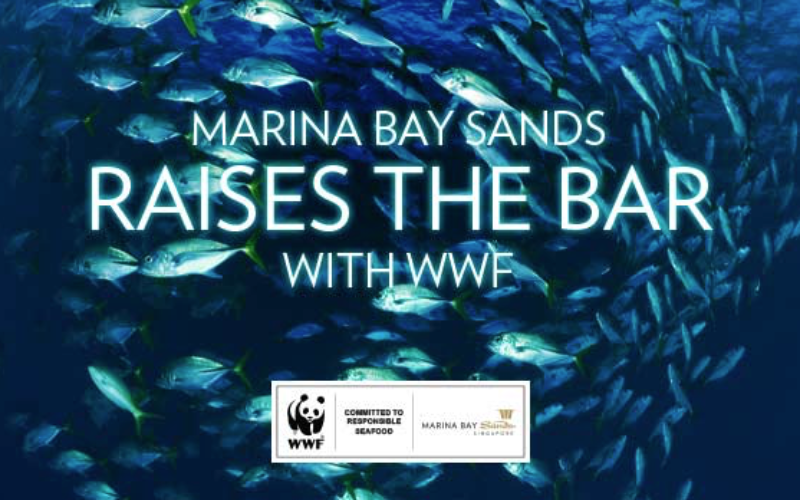Marina Bay Sands partners with WWF for sustainable sourcing