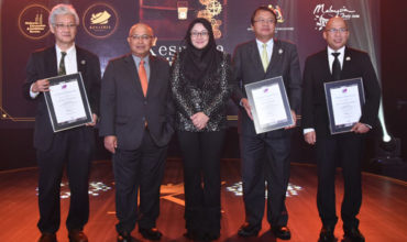 MyCEB recognises new conference ambassadors at the annual installation of Kesatria 1Malaysia programme