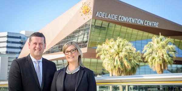 Simon Burgess & Erryn Dryga, Adelaide(credit - Simon Casson Photographer (c) 2018 courtesy Adelaide Convention Centre)
