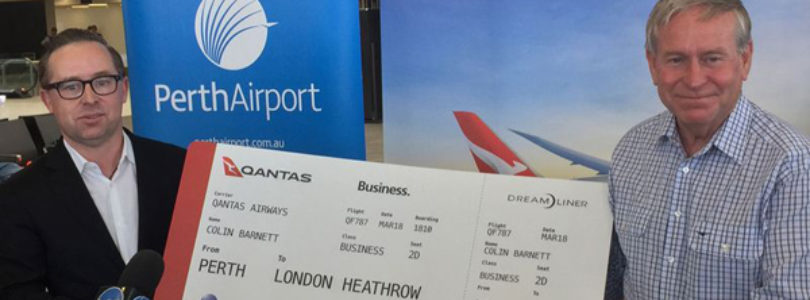 We have take-off: Qantas launches first non-stop flight between Europe and Australia