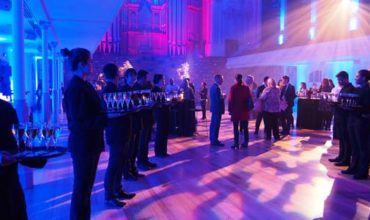 Auckland Town Hall welcome for CINZ annual showcase reception