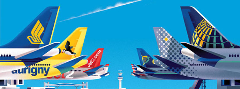 Most desired airlines in the world, according to the logo