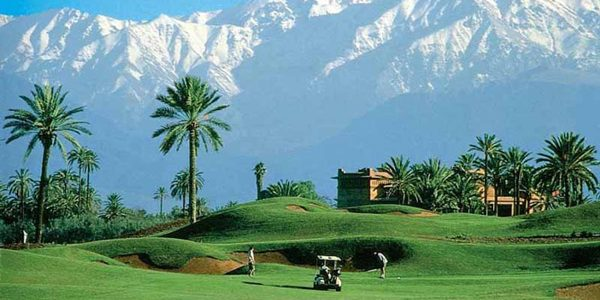 Golf by the Atlas Mountains