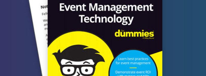"Cvent launches ""Event Management Technology For Dummies"""