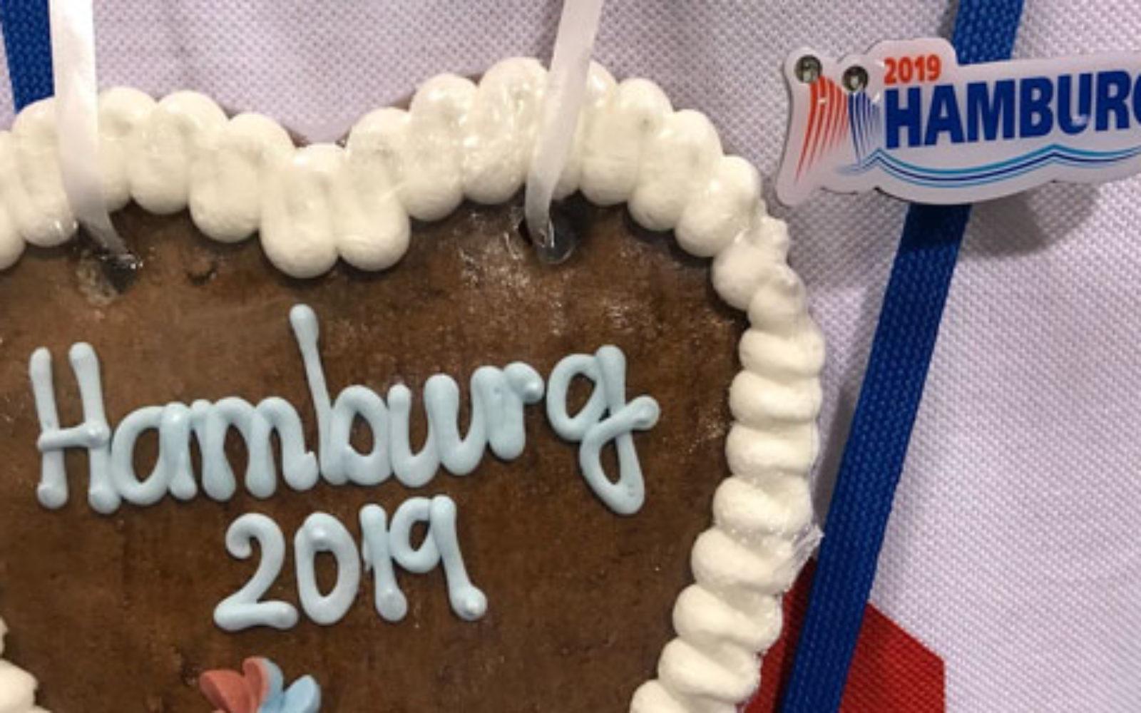 How did this Hamburg convention reach 15,000 pre
