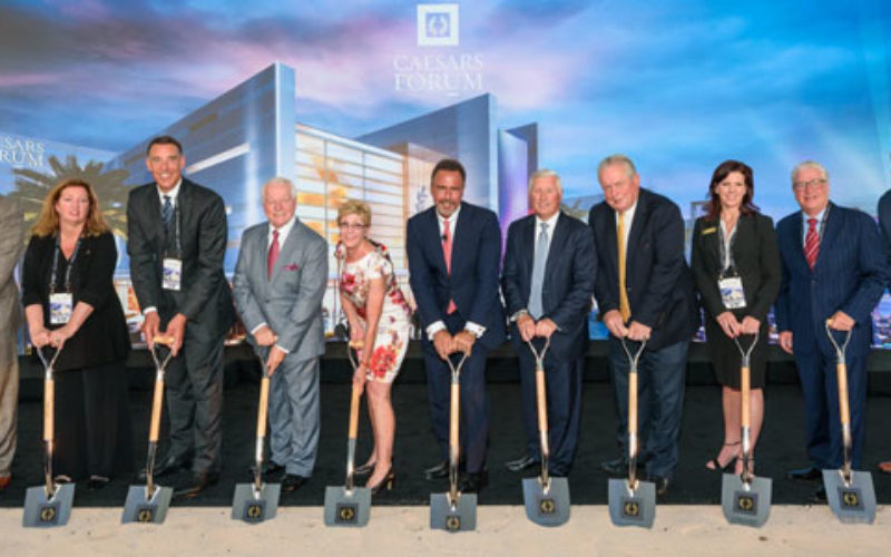 Caesars Entertainment unveils $375m conference centre in Las Vegas