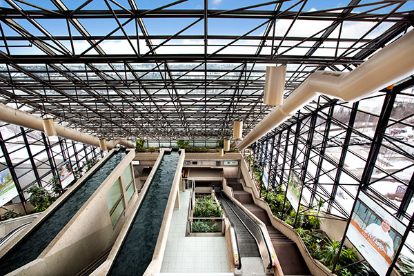 Atrium of the SCC