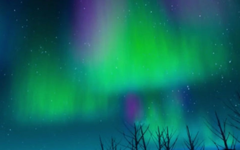 Experience Finland's northern lights in virtual reality