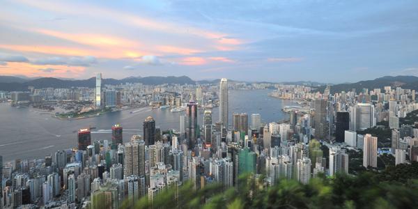 Hong Kong panorama-CNEW