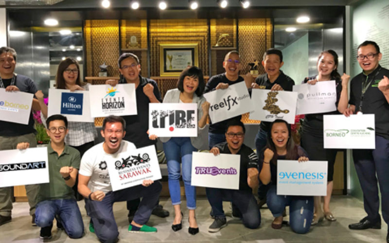 Gathering of the meetings industry TriBE in Kuching