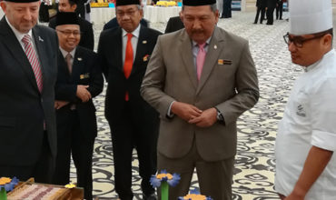 Kuala Lumpur Convention Centre serves up cake fit for a king