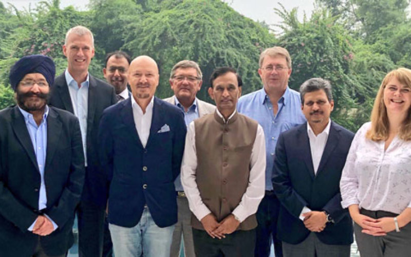 Industry leaders oversee new venues and growth in India