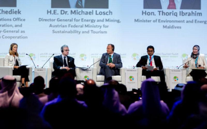 Maktoum bin Mohammed attends 5th World Green Economy Summit 2018 in Dubai