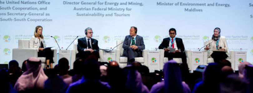 Maktoum bin Mohammed attends 5th World Green Economy Summit 2018 in Dubai