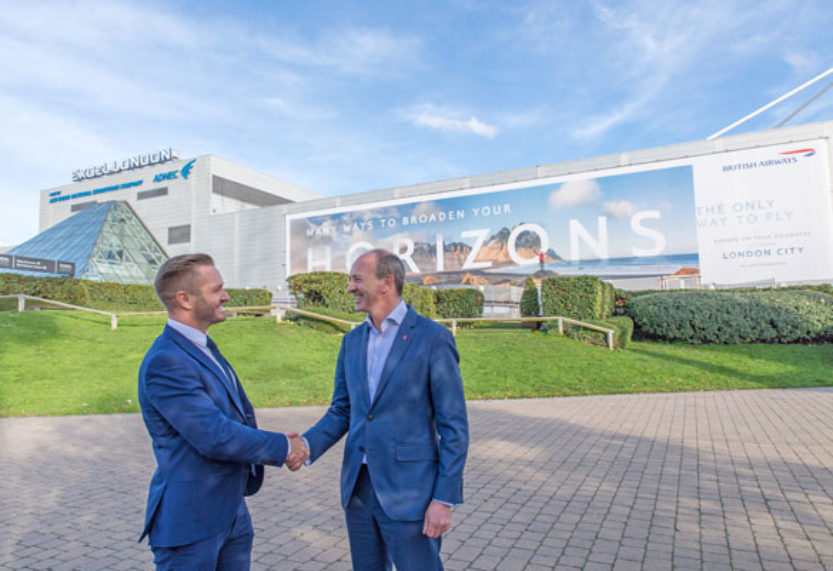 British Airways launch partnership with ExCel London