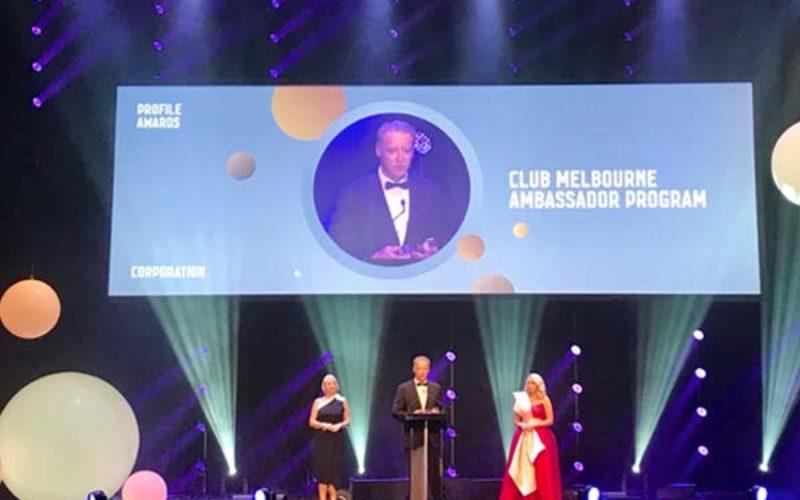 Club Melbourne awarded top city accolade