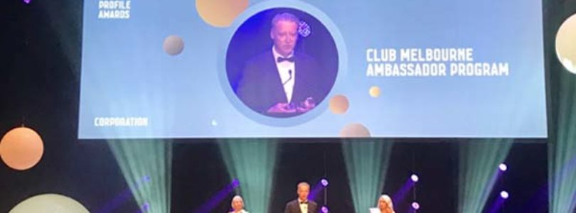 Club Melbourne awarded top city accolade