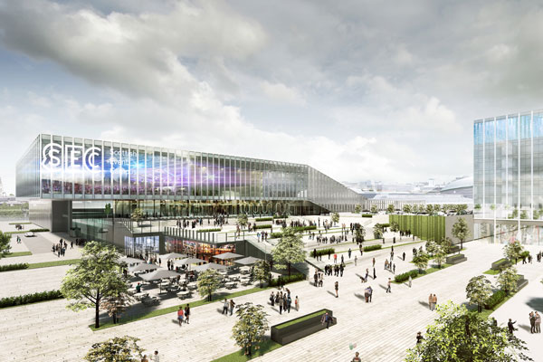 Scotland's SEC submits planning application for £150-200m 'global event campus'