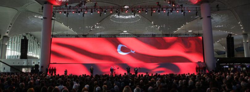 Turkish President Erdogan opens new Istanbul airport