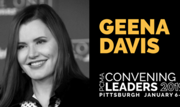 Geena Davis to deliver keynote at PCMA Convening Leaders in Pittsburgh