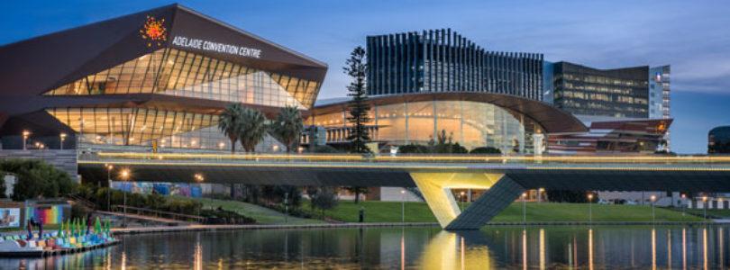 Adelaide in international orbit
