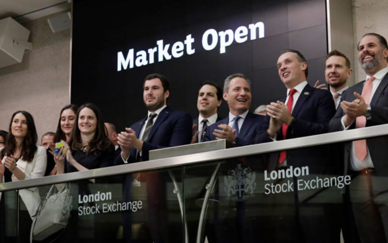 Mining Indaba celebrates London Stock Exchange market opening ceremony