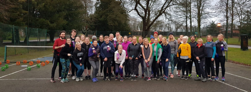 UK agents take a healthy step at LVP Boot Camp Weekend