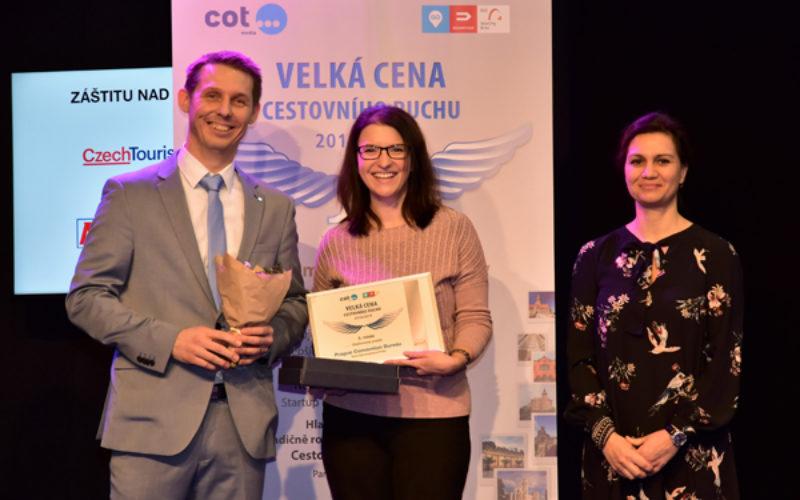 Prague Convention Bureau honoured with national tourism award