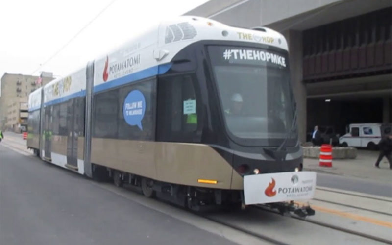 Milwaukee desire for streetcar to connect Wisconsin Center
