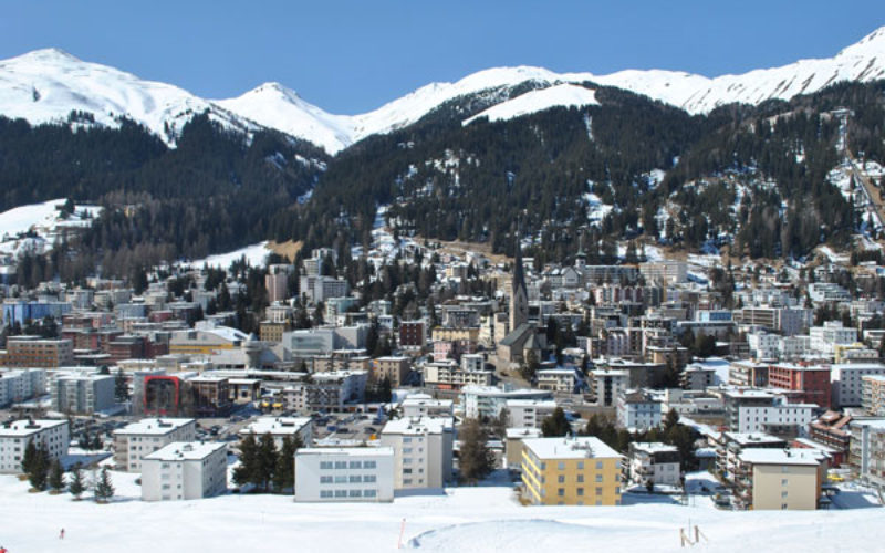 World leaders make an impression in Davos with their environmental footprint